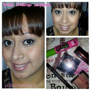 Makeupateer Gaby showing you an easy & affordable everyday look using all Maybelline products.